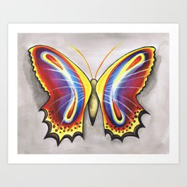 Colorfly  Art Print