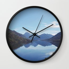 Lago Escondido Wall Clock