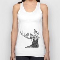 river song Tank Tops featuring Song by Natalie Toms Illustration