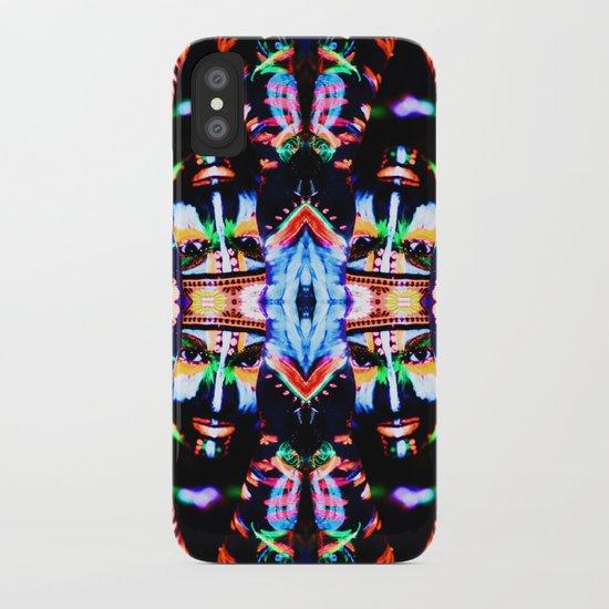 UV GODDESS MANDALA  iPhone Case