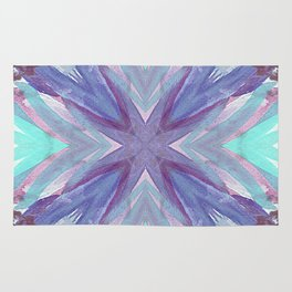 Watercolor Abstract Rug