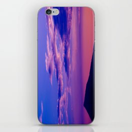 Purple Sunset iPhone Skin