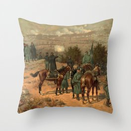 Civil War Battle of Chattanooga by Thulstrup Throw Pillow