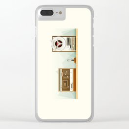 Old Record Clear iPhone Case