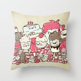 Sugar Overload Throw Pillow