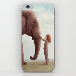 One Amazing Elephant iPhone Skin