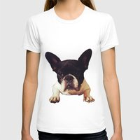 frenchie T-shirts featuring Frenchie by lori