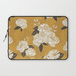 Glam Florals - Gold Laptop Sleeve