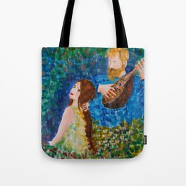 You paint my entire world Tote Bag