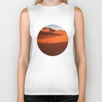 desert Biker Tanks featuring Desert by GF Fine Art Photography