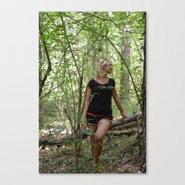 sotto bosco Canvas Print