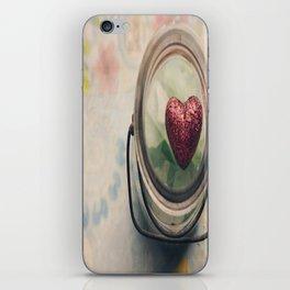 Love in a jar iPhone Skin