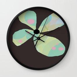 FLOWERY  KAYA / ORIGINAL DANISH DESIGN bykazandholly Wall Clock