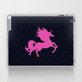 Visible Invisible Pink Unicorn Laptop & iPad Skin