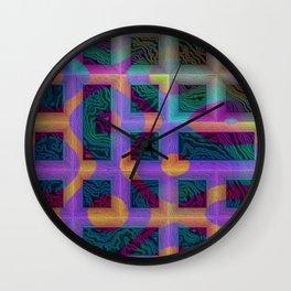 Layers VII Wall Clock