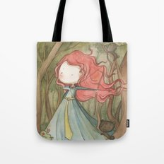 Merida in the forest Tote Bag