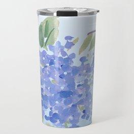 blue lilac Travel Mug