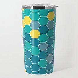 Bee Beach Travel Mug