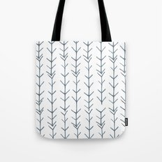 Twigs and branches freeform gray Tote Bag
