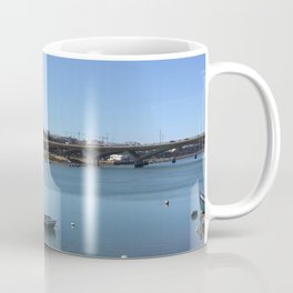 Photography of a river on a sunny day,enjoy the summer on this breathtaking place ,ideal gift for kayak and swimming lovers  Coffee Mug