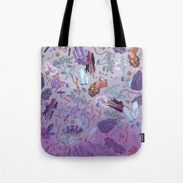 violet mountain dreams Tote Bag