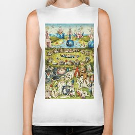 Hieronymus Bosch - The Garden Of Earthly Delights Biker Tank