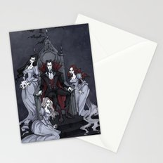 Dracula And His Brides Stationery Cards