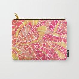 Schismatoglottis Calyptrata – Pink/Peach Palette Carry-All Pouch