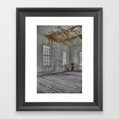 The Chair (redux redux) Framed Art Print