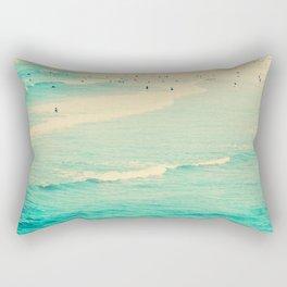 beach sunday II Rectangular Pillow