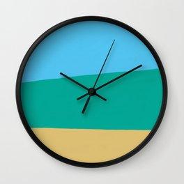 Beach view Wall Clock