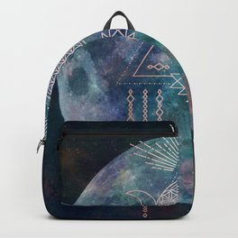 Lunar Goddess Mandala Backpack