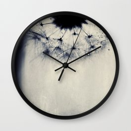 vintage blue dandy Wall Clock