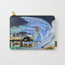 Face of the City Carry-All Pouch