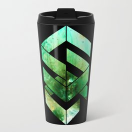 Abstract Space - version 2 - inverted Travel Mug