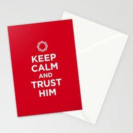 Keep Calm & Trust Him Stationery Cards