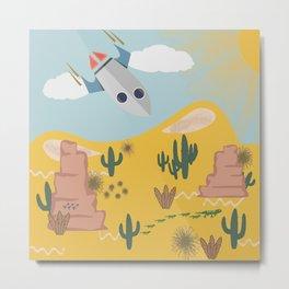 Crash Landing 51 Metal Print