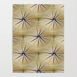 Paper Parasols Poster