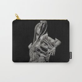 'Veiled Modesty' Contemporary Portrait by Jeanpaul Ferro Carry-All Pouch
