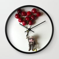 pixar Wall Clocks featuring Up Pixar toys by Emiliano Morciano (Ateyo)