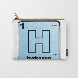 Hydrogen From The Periodic Table Carry-All Pouch