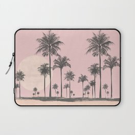 Tropical Sunset In Peach Coral Pastel Colors Laptop Sleeve