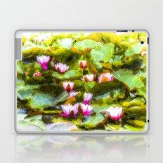 Water Lilys Art Laptop & iPad Skin