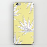 weed iPhone & iPod Skins featuring weed by Estelle F