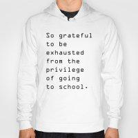 school Hoodies featuring school by Renee Monaco