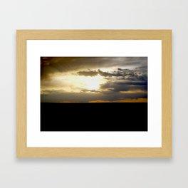 Farmer's Nightlight Framed Art Print