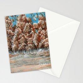 Orange Trees Stationery Cards