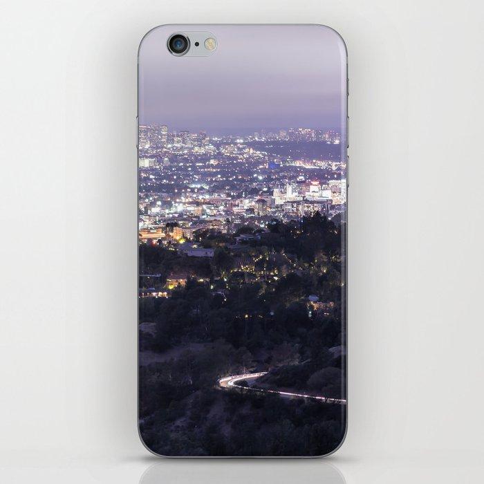 Los Angeles Nightscape No. 2 iPhone Skin