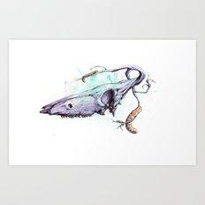 skullbranch Art Print