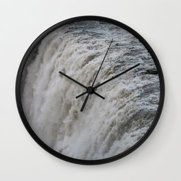Dettifoss 1 Wall Clock